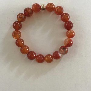 Jewelry - Fire Agate Stretch Bracelet
